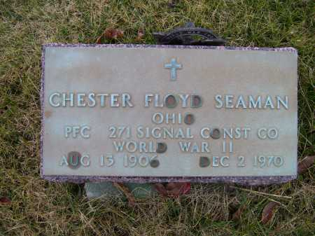 SEAMAN, CHESTER FLOYD - Adams County, Ohio | CHESTER FLOYD SEAMAN - Ohio Gravestone Photos