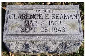 SEAMAN, CLARENCE E. - Adams County, Ohio | CLARENCE E. SEAMAN - Ohio Gravestone Photos
