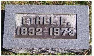 SEAMAN, ETHEL E. - Adams County, Ohio   ETHEL E. SEAMAN - Ohio Gravestone Photos