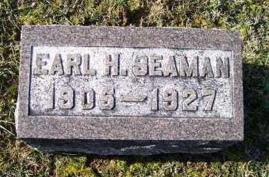 SEAMAN, EARL H. - Adams County, Ohio   EARL H. SEAMAN - Ohio Gravestone Photos