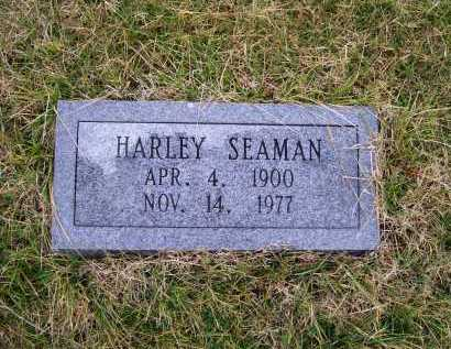 SEAMAN, HARLEY - Adams County, Ohio | HARLEY SEAMAN - Ohio Gravestone Photos