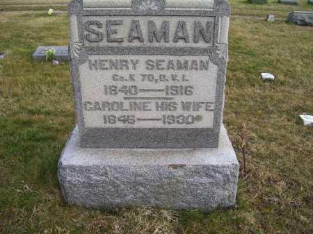 SEAMAN, CAROLINE - Adams County, Ohio | CAROLINE SEAMAN - Ohio Gravestone Photos