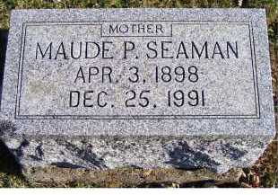 SEAMAN, MAUDE P. - Adams County, Ohio | MAUDE P. SEAMAN - Ohio Gravestone Photos