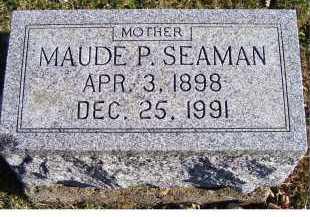 SEAMAN, MAUDE P. - Adams County, Ohio   MAUDE P. SEAMAN - Ohio Gravestone Photos