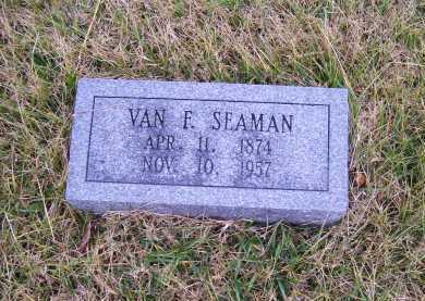 SEAMAN, VAN F. - Adams County, Ohio | VAN F. SEAMAN - Ohio Gravestone Photos