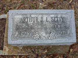 SETTY, ARTHUR - Adams County, Ohio   ARTHUR SETTY - Ohio Gravestone Photos