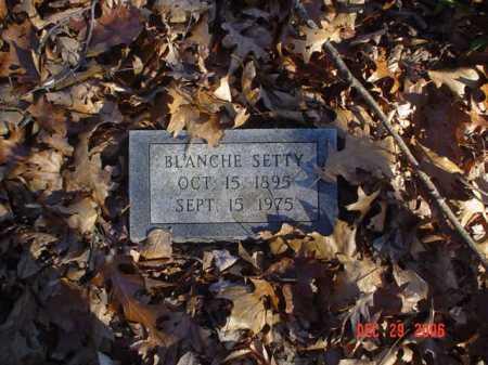 SETTY, BLANCHE - Adams County, Ohio | BLANCHE SETTY - Ohio Gravestone Photos
