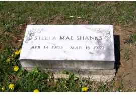 SHANKS, STELLA MAE - Adams County, Ohio | STELLA MAE SHANKS - Ohio Gravestone Photos