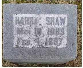 SHAW, HARRY - Adams County, Ohio | HARRY SHAW - Ohio Gravestone Photos