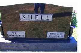 SHELL, CARL H. - Adams County, Ohio | CARL H. SHELL - Ohio Gravestone Photos