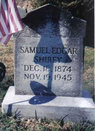SHIREY, SAMUEL EDGAR - Adams County, Ohio | SAMUEL EDGAR SHIREY - Ohio Gravestone Photos