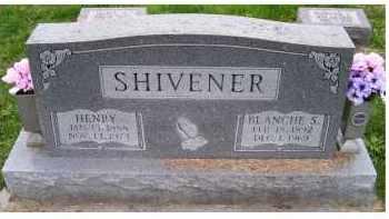 SHIVENER, BLANCHE S. - Adams County, Ohio | BLANCHE S. SHIVENER - Ohio Gravestone Photos