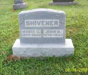 SHIVENER, JOHN H - Adams County, Ohio | JOHN H SHIVENER - Ohio Gravestone Photos