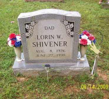 SHIVENER, LORIN W - Adams County, Ohio | LORIN W SHIVENER - Ohio Gravestone Photos