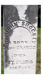 SHOCKEY, JOHN - Adams County, Ohio | JOHN SHOCKEY - Ohio Gravestone Photos