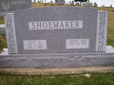 SHOEMAKER, ALVIE JR. - Adams County, Ohio | ALVIE JR. SHOEMAKER - Ohio Gravestone Photos