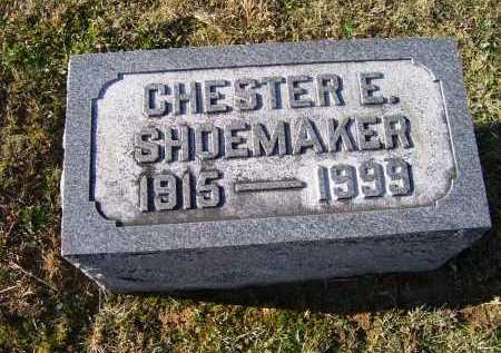 SHOEMAKER, CHESTER E. - Adams County, Ohio | CHESTER E. SHOEMAKER - Ohio Gravestone Photos