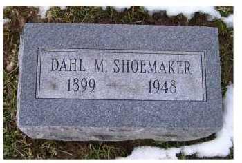 SHOEMAKER, DAHL M. - Adams County, Ohio | DAHL M. SHOEMAKER - Ohio Gravestone Photos