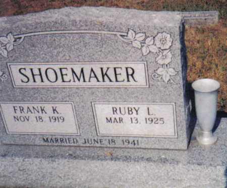 GARMAN SHOEMAKER, RUBY L. - Adams County, Ohio | RUBY L. GARMAN SHOEMAKER - Ohio Gravestone Photos