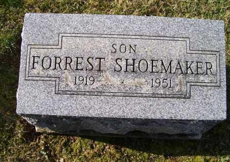SHOEMAKER, FORREST - Adams County, Ohio | FORREST SHOEMAKER - Ohio Gravestone Photos