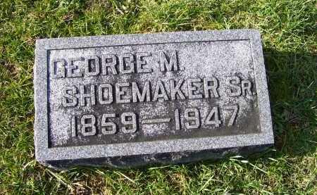 SHOEMAKER, GEORGE M. SR. - Adams County, Ohio | GEORGE M. SR. SHOEMAKER - Ohio Gravestone Photos
