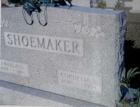 RAYBORN SHOEMAKER, CORDELIA R. - Adams County, Ohio | CORDELIA R. RAYBORN SHOEMAKER - Ohio Gravestone Photos