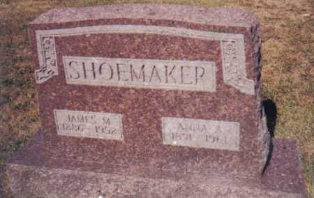 SHOEMAKER, JAMES M. - Adams County, Ohio | JAMES M. SHOEMAKER - Ohio Gravestone Photos