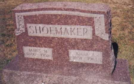 WYLIE SHOEMAKER, ANNA A. - Adams County, Ohio | ANNA A. WYLIE SHOEMAKER - Ohio Gravestone Photos