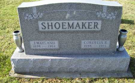 SHOEMAKER, CORDELIA R. - Adams County, Ohio | CORDELIA R. SHOEMAKER - Ohio Gravestone Photos