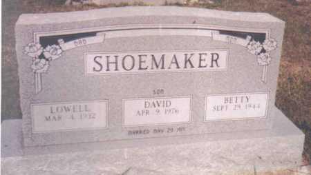 SHOEMAKER, LOWELL - Adams County, Ohio | LOWELL SHOEMAKER - Ohio Gravestone Photos
