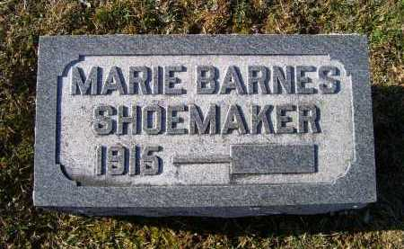 BARNES SHOEMAKER, MARIE - Adams County, Ohio | MARIE BARNES SHOEMAKER - Ohio Gravestone Photos