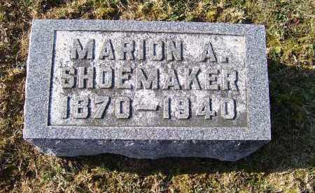 SHOEMAKER, MARION A. - Adams County, Ohio | MARION A. SHOEMAKER - Ohio Gravestone Photos
