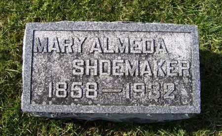 NEWMAN SHOEMAKER, MARY ALMEDA - Adams County, Ohio | MARY ALMEDA NEWMAN SHOEMAKER - Ohio Gravestone Photos