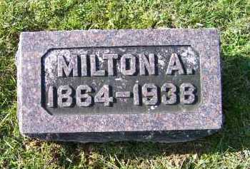 SHOEMAKER, MILTON A. - Adams County, Ohio | MILTON A. SHOEMAKER - Ohio Gravestone Photos