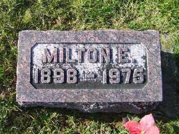 SHOEMAKER, MILTON E. - Adams County, Ohio | MILTON E. SHOEMAKER - Ohio Gravestone Photos