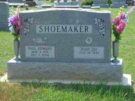EDWARD SHOEMAKER, PAUL - Adams County, Ohio   PAUL EDWARD SHOEMAKER - Ohio Gravestone Photos