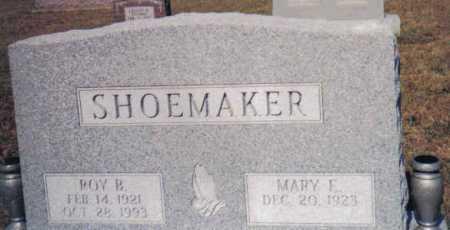 SHOEMAKER, ROY B. - Adams County, Ohio | ROY B. SHOEMAKER - Ohio Gravestone Photos