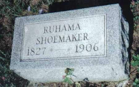 COKONAUGHER SHOEMAKER, RUHAMA - Adams County, Ohio | RUHAMA COKONAUGHER SHOEMAKER - Ohio Gravestone Photos