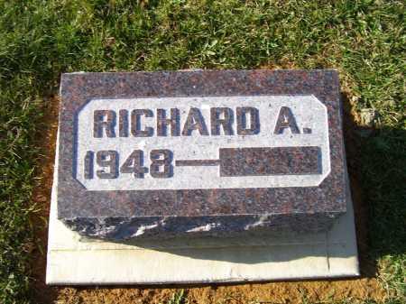 SHOEMAKER, RICHARD A. - Adams County, Ohio   RICHARD A. SHOEMAKER - Ohio Gravestone Photos