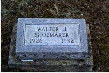 SHOEMAKER, WALTER J. - Adams County, Ohio | WALTER J. SHOEMAKER - Ohio Gravestone Photos