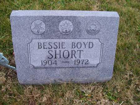 BOYD SHORT, BESSIE - Adams County, Ohio | BESSIE BOYD SHORT - Ohio Gravestone Photos