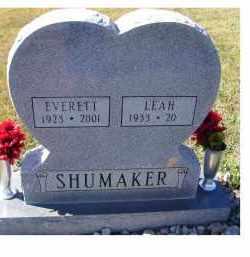 SHUMAKER, EVERETT - Adams County, Ohio   EVERETT SHUMAKER - Ohio Gravestone Photos