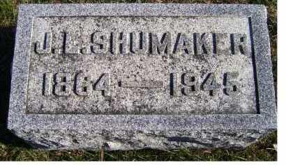 SHUMAKER, J. L. - Adams County, Ohio   J. L. SHUMAKER - Ohio Gravestone Photos