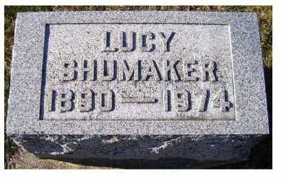 SHUMAKER, LUCY - Adams County, Ohio   LUCY SHUMAKER - Ohio Gravestone Photos