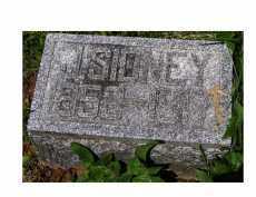 SIDNEY, J. - Adams County, Ohio | J. SIDNEY - Ohio Gravestone Photos
