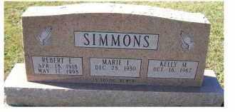 SIMMONS, REBERT E. - Adams County, Ohio   REBERT E. SIMMONS - Ohio Gravestone Photos