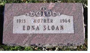 SLOAN, EDNA - Adams County, Ohio | EDNA SLOAN - Ohio Gravestone Photos