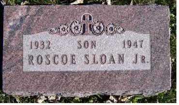SLOAN, ROSCOE JR. - Adams County, Ohio | ROSCOE JR. SLOAN - Ohio Gravestone Photos