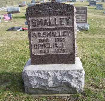 SMALLEY, S. O. - Adams County, Ohio | S. O. SMALLEY - Ohio Gravestone Photos