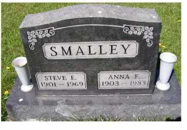 SMALLEY, ANNA F. - Adams County, Ohio | ANNA F. SMALLEY - Ohio Gravestone Photos
